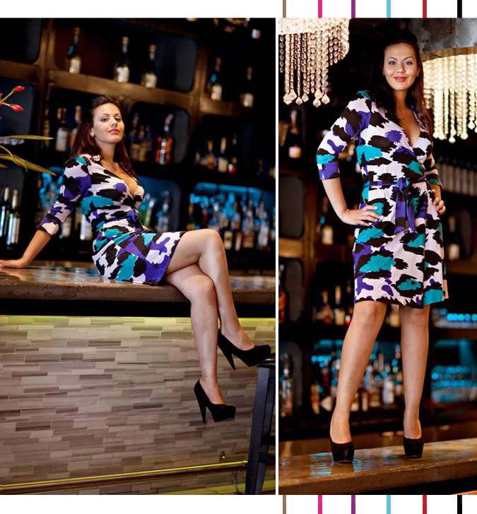 DVF Dress - fashion blog montreal
