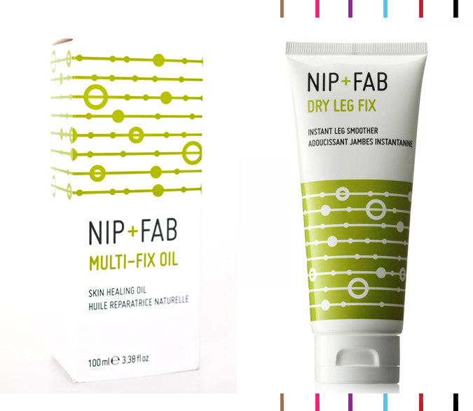 NIP+FAB - Multi-Fix oil & Dry Leg Fix review : Beauty blog Montreal