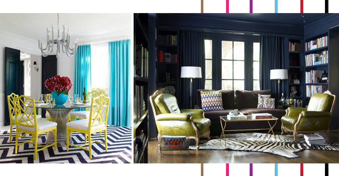Decoration inspirations : Navy and Yellow : Blog Montreal