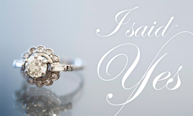 Engagement vintage ring - Serial Indulgence