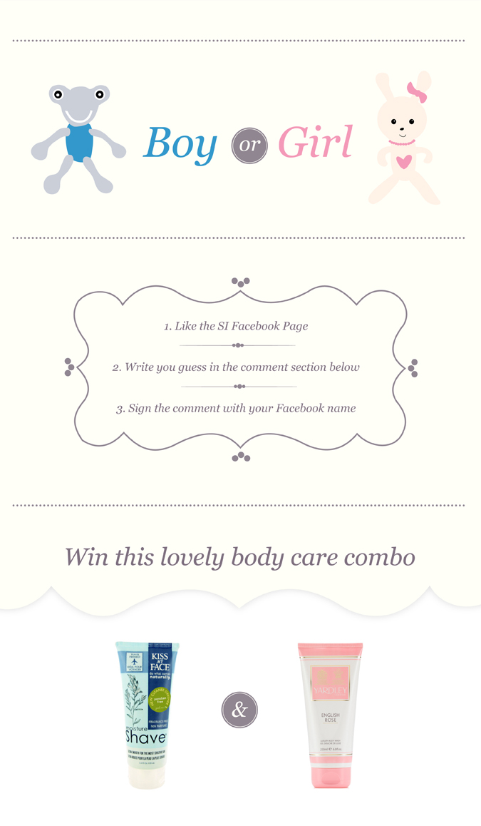 Kiss my face - Yardley London - Pregnancy Contest - Serial Indulgence Blog