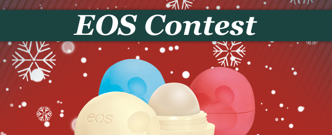 Contest EOS - limited edition 3-pack lip balm collection, beauty blog montreal