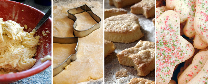 Christmas Sugar Cookie recipe - Blog food Montréal