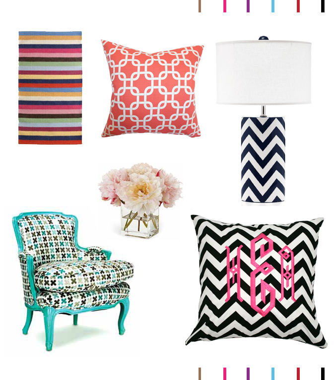 preppy decor accessories - home blog montreal