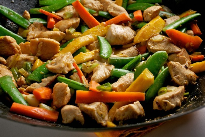 Tags: chicken stir fry , heathy recipe , skinny stir fry , stir fry ...